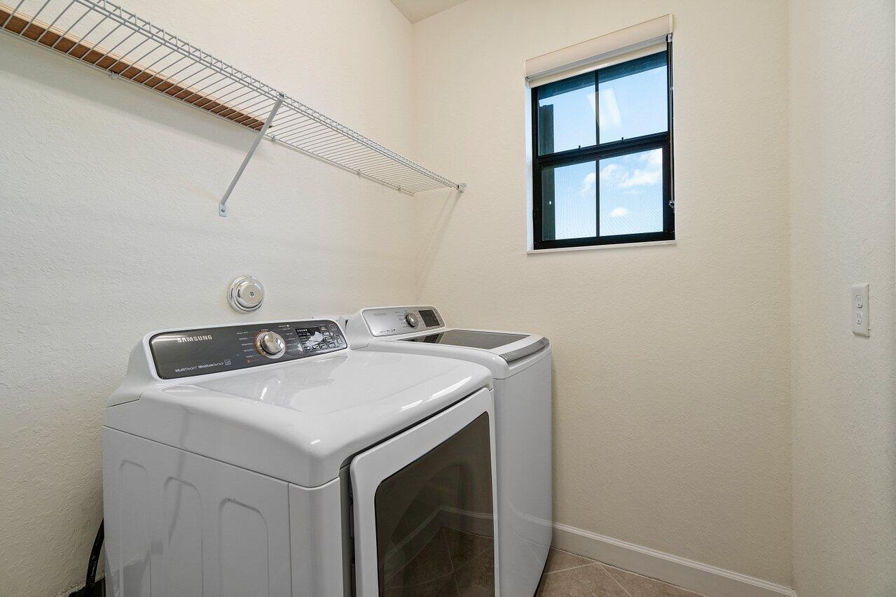 Laundry room upstairs, Yay!!