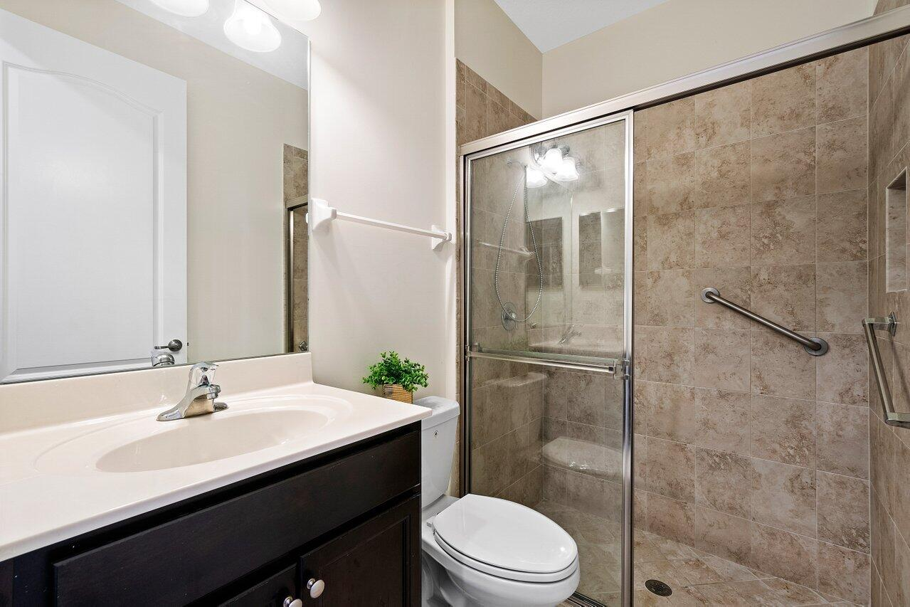 Full bathroom dounstairs