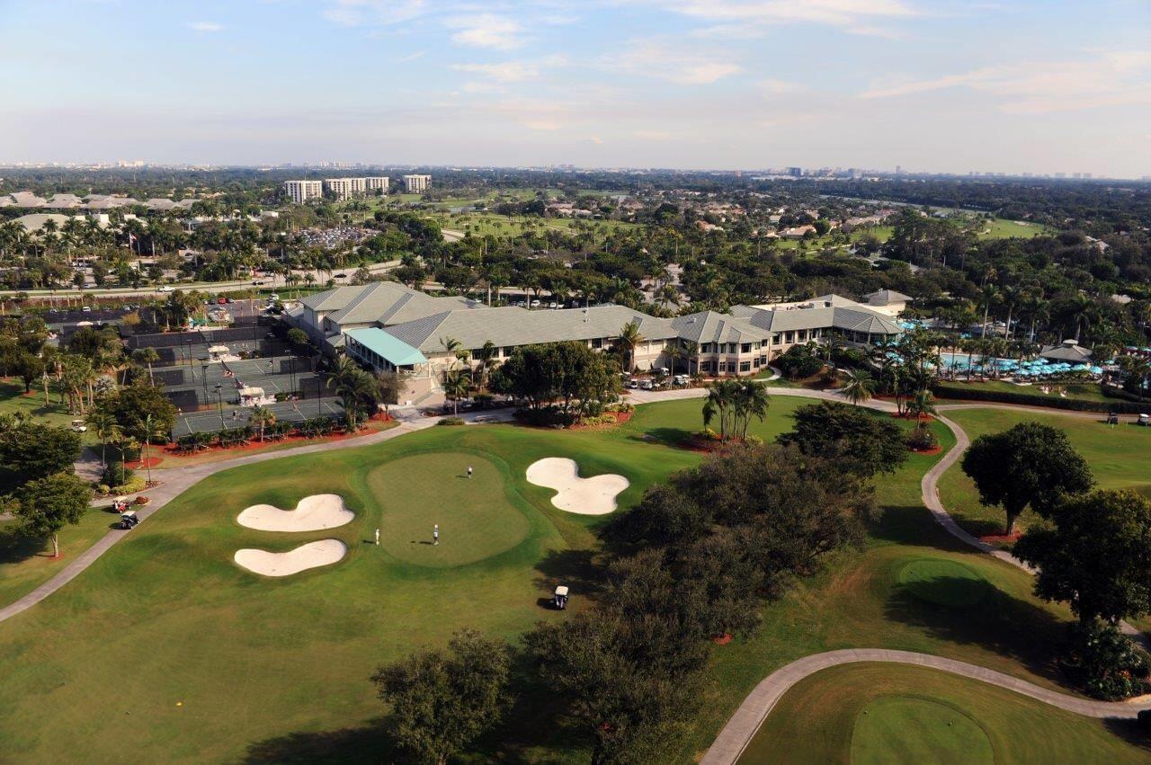 Boca West - Aerial View