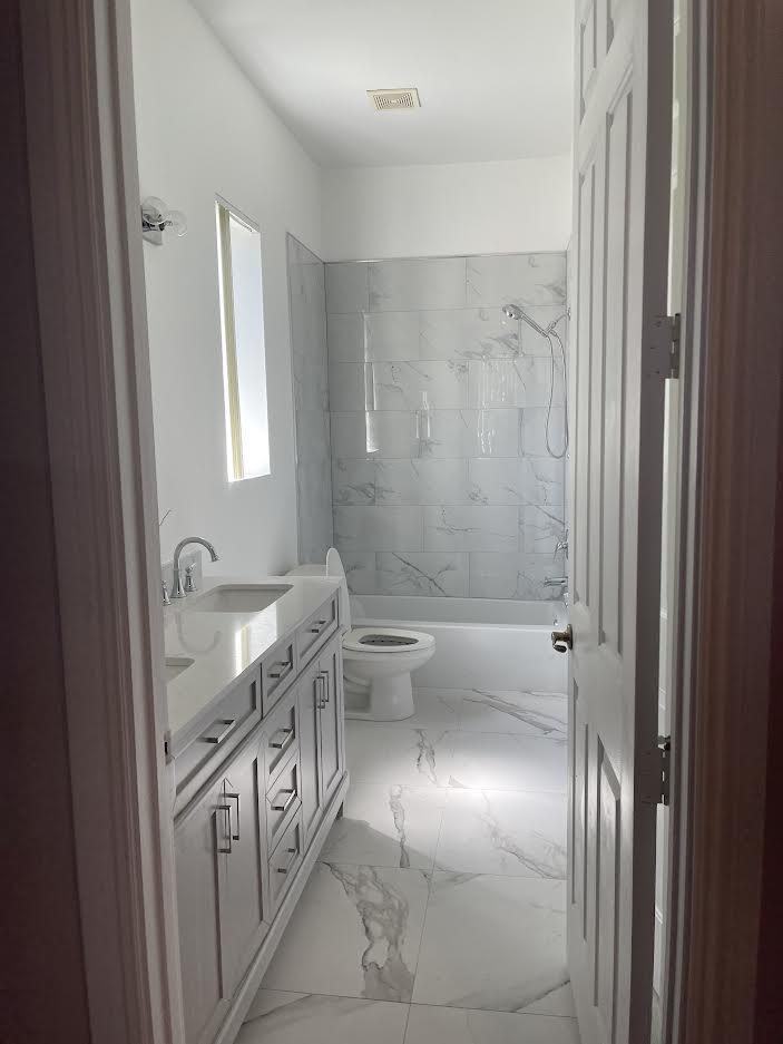 New Remodeled Master Bath