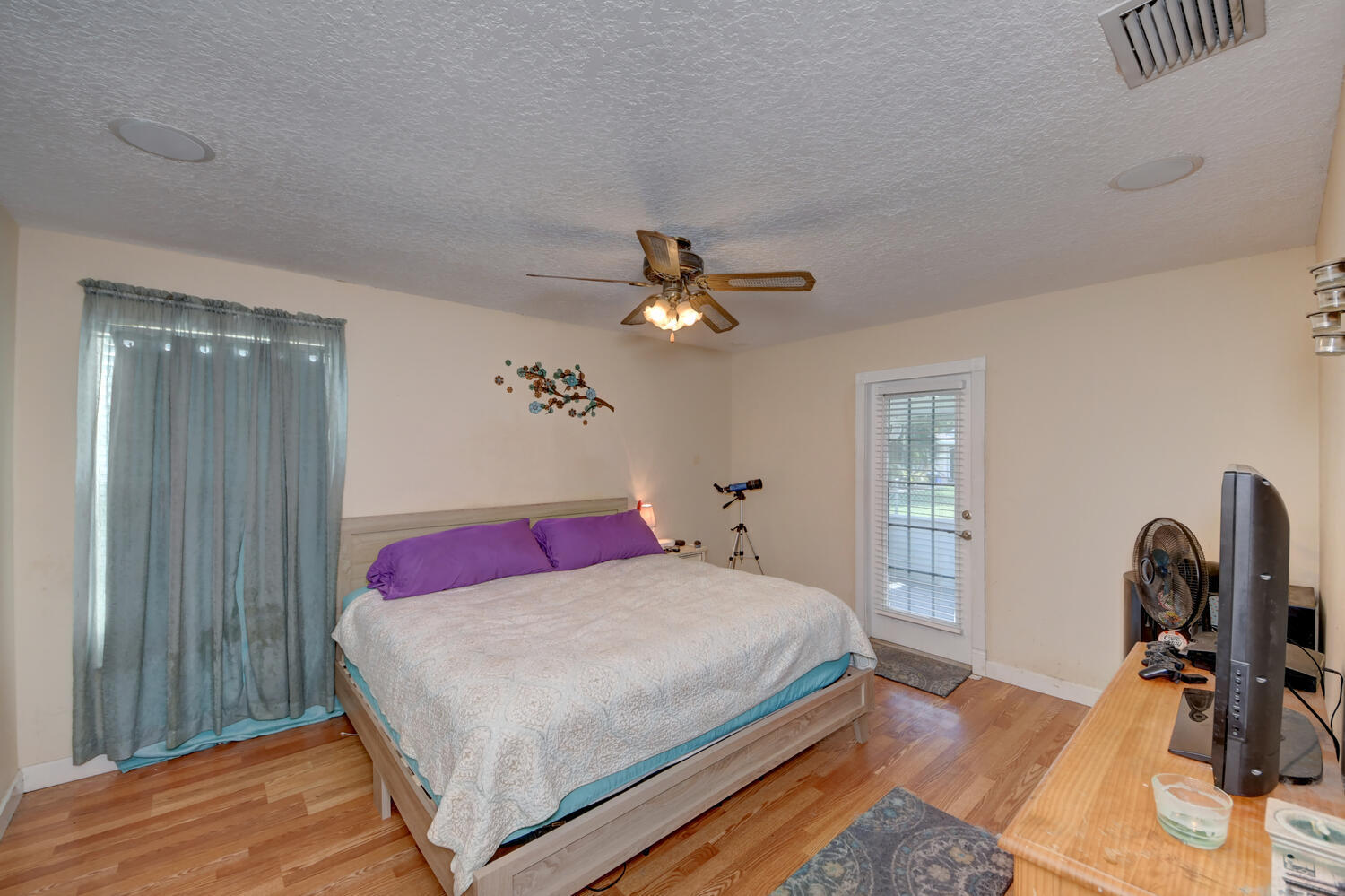 Master Bedroom Opens to Back Patio