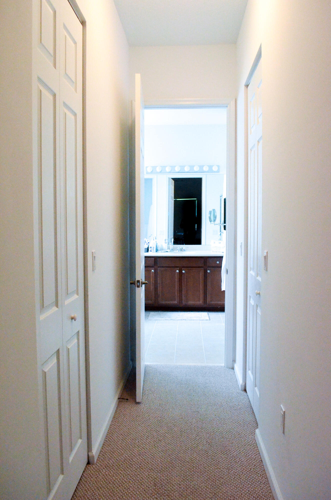 Two Walk-in Closets