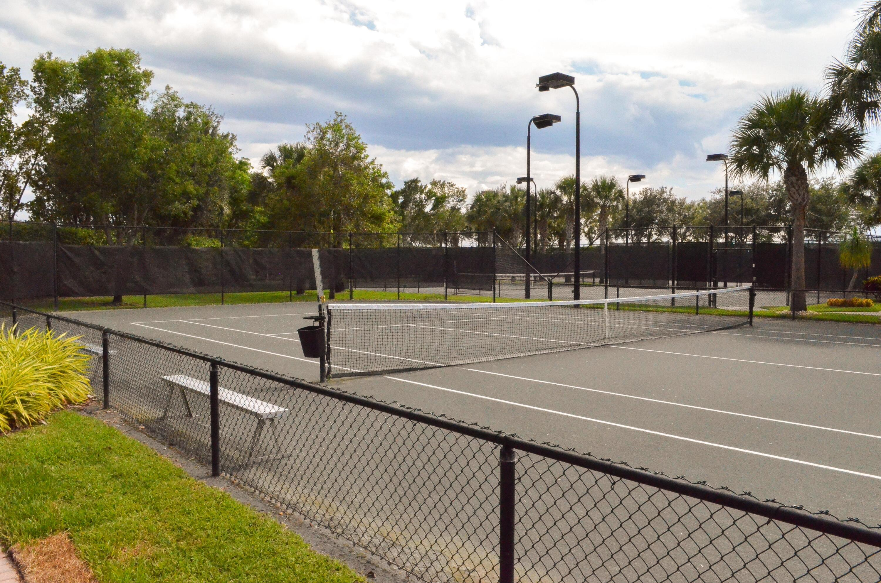Six Tennis Courts