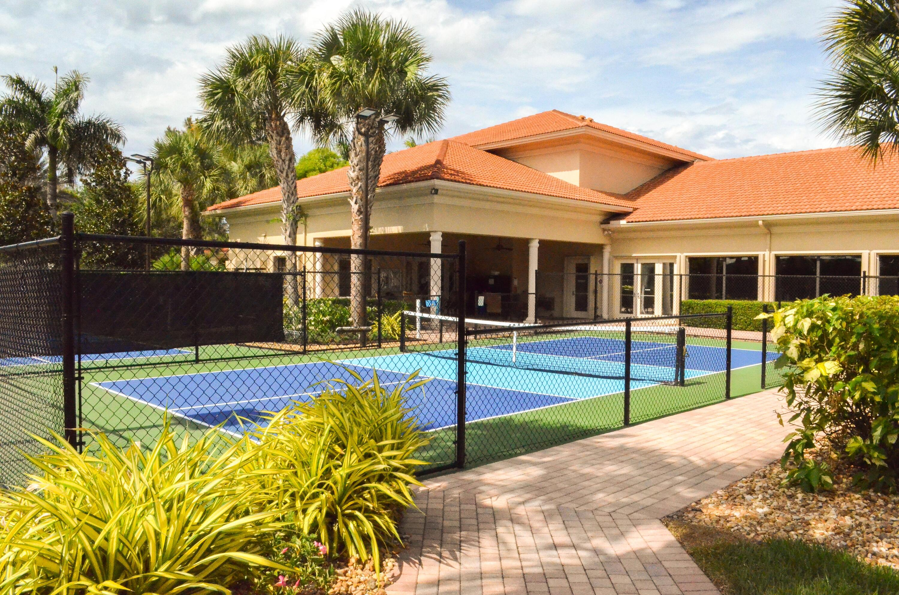 Two Pickleball Courts