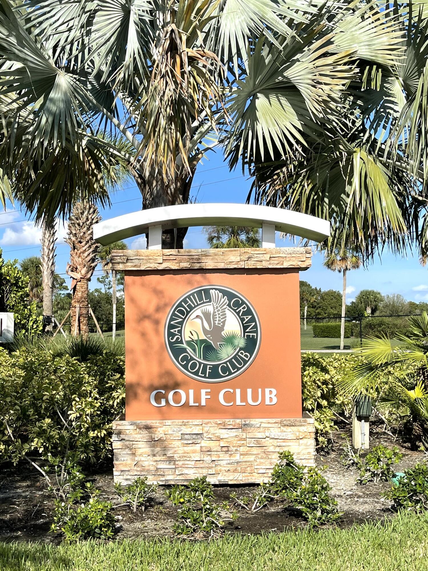 Sand Hill Crane Club Entry