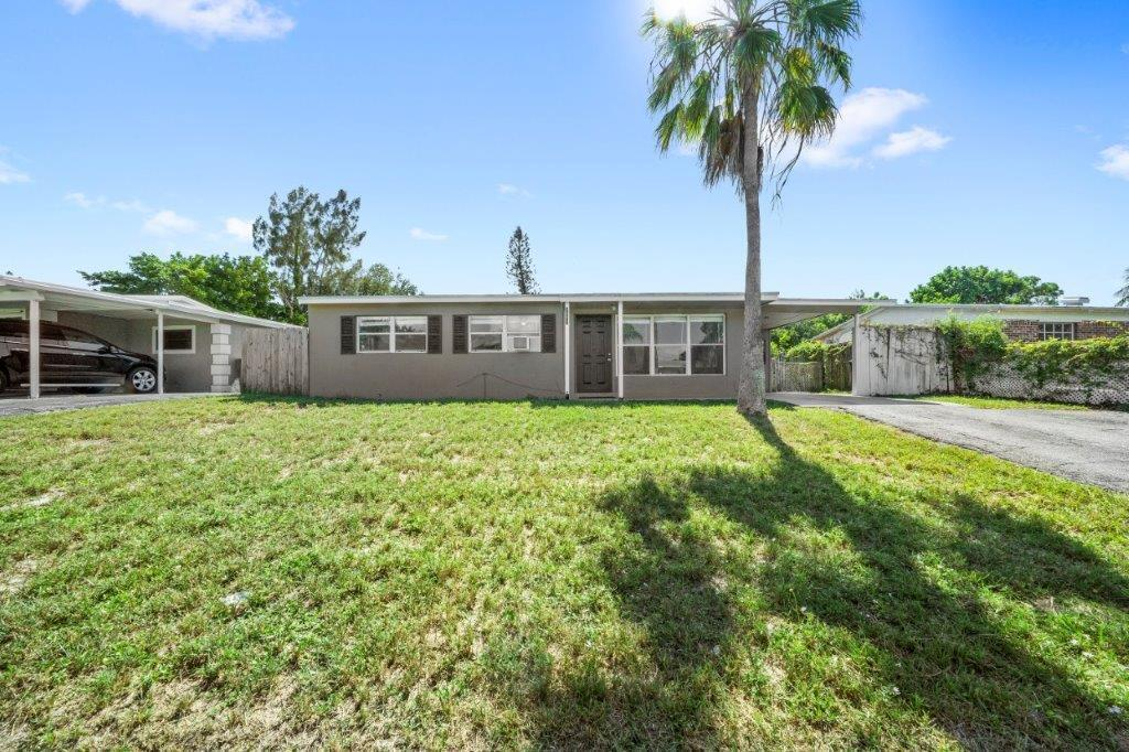 Clean 3Br 1 BA  single family home, large fenced back yard, large dogs welcome. Professionally managed. Community includes Cabana Colony Park.   Amenities include playground, basketball, exercise stations, open green space, picnic areas, picnic shelter. First mo rent and two mo security.   Tenant must carry renters insurance with $100,000 liability.  Best prices from Geico & Progressive.  Next day move ins possible.  Rent includes lawn maint.  Must provide credit and (no free reports) & basic application available in documents.