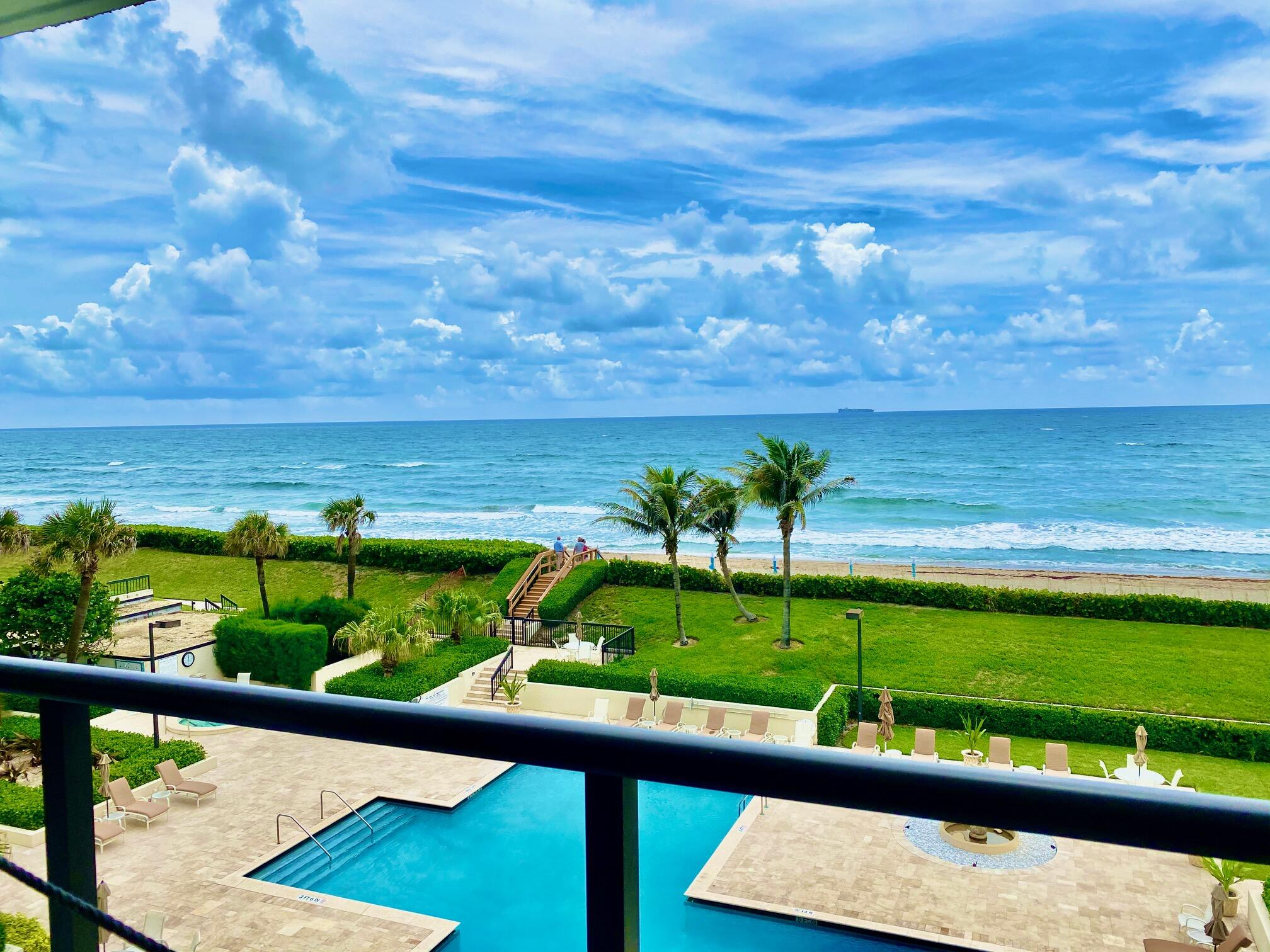 Fantastic Direct Ocean, 3 bedroom renovated condo! You can move right in, ASAP and the furniture is even negotiable.