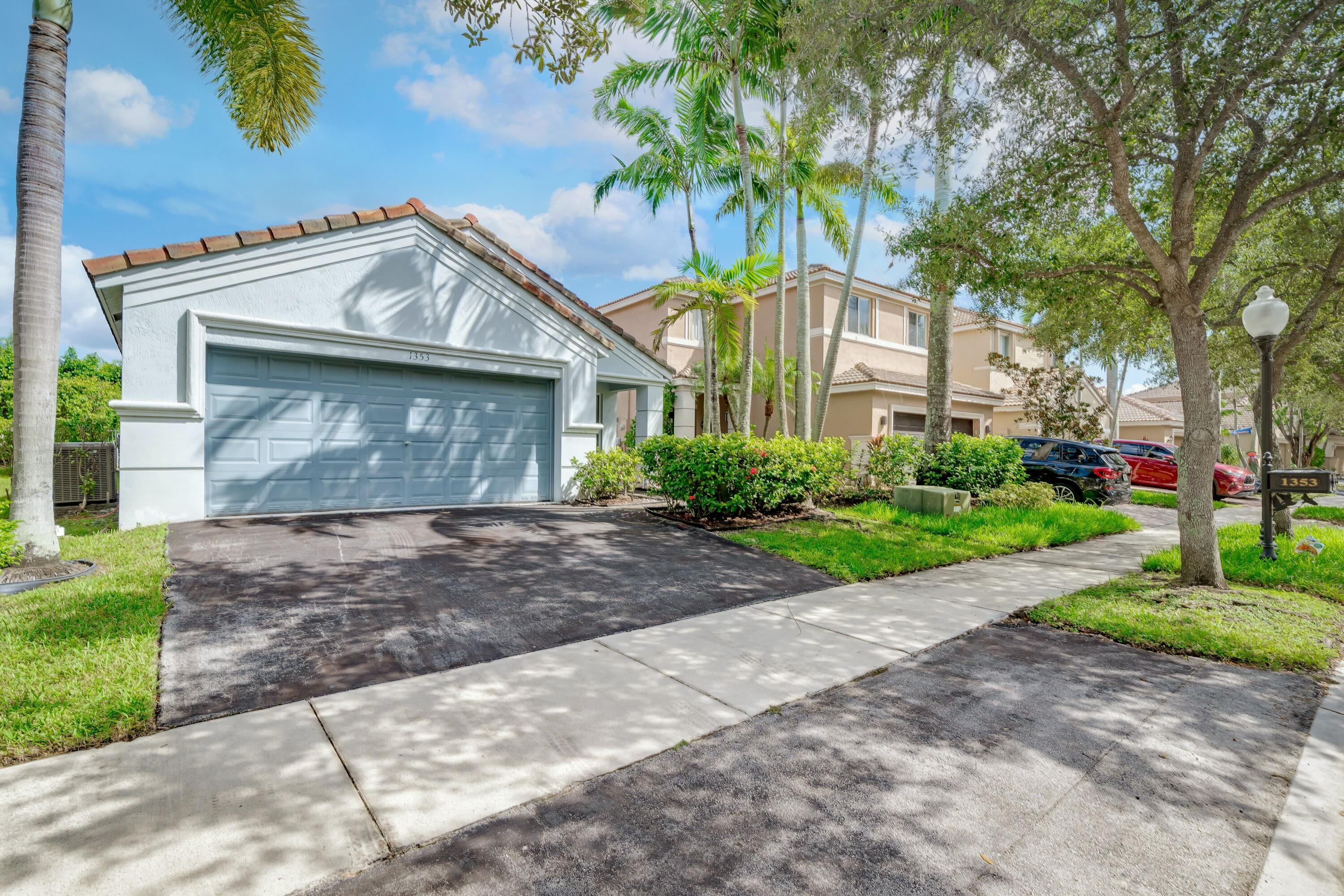 Don't miss this beautiful home in the highly sought after gated community of Savanna!  This 3/2 is ready to become home to a new family who will love it just as much as it's previous owners!  Hurry, because this will simply not last!  New AC, inside & out.  Washer, dryer, and hot water heater all < 1 year old!  All home appliances have transferrable warrantees as well.  Benefits of living in this neighborhood include access to amazing resort style amenities such as a soccer field, a basketball court, a mini golf course, a 4 mile walking trail, and much, much more!  Additionally, Weston A+ schools are some of the best in the country!