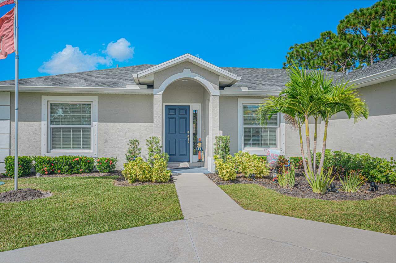 Why wait for new construction when you can have this 2020 build! Located in the highly desired St Lucie West/Torino area of Port St Lucie.  Custom built by local developer and still covered under the builder's 10 year structural warranty.  Lots of attention to detail were made when building from the extended circular driveway, stainless steel appliances, granite countertops, solid wood cabinets, extended patio with gazebo, brand new white pvc fence and fruit trees. This is a must see property! Furniture negotiable along with generator with a home connection.  Be close to all of the best that St Lucie has to offer.  Must see property and won't last long.