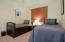 Great guest suite perfect for the fishermen with a private entry door...