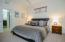 Private guest suite and separate bathroom suites with a separate laundry room