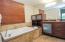 Luxury, spa-like bathroom suites