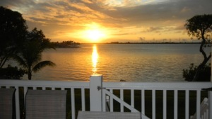 Sunsets are Fabulous from both rear Balconies!