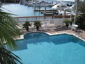 Waterfront Heated Pool and Spa.