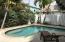 Sun filled Swimming Pool.