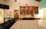 Granite countertops and wine bar