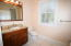 Bath by entertainment room