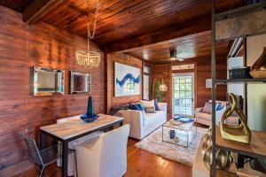 Modern decor meets historic charm