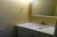 Half Bath off Bedroom #2