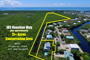 183 Venetian Way, +15Acres Conserv. Area, Plantation Key, FL 33036
