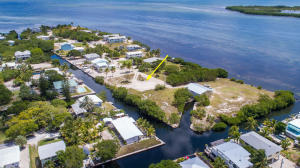 Canal front lot located on Coral Way in Big Pine Key.