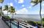 Ocean front terrace