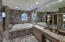 Marble Jacuzzi tub and 2 sets of sinks