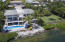 Ocean front home on 2 lots on Ocean Cay's private peninsula