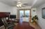 Main living level bedroom suite