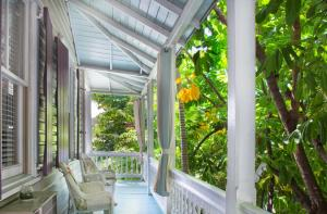 The Coco Plum Inn is a charming Old Town guest house comprised of two historic buildings in a prime location with 14 fully licensed rooms plus a non-transient license (28 day rental min.) that could be used as a vacation rental. The current configuration is 2 apts., one used by an employee and the other by the owner. Lushly landscaped grounds, large swimming pool, courtyard and parking. Includes 14 transient licenses, 1 non-transient license, & a 12 seat restaurant license. An incredible business opportunity with enormous upside potential in occupancy rate to achieve the 85% STR average for Key West. The best possible location in the heart of Old Town Key West's commercial district, one block west of world famous Duval Street.