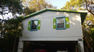 Street View of 210 Key Honey Lane in Tavernier, FL.