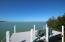 Dock offering open water views