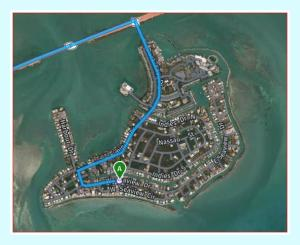 Directions to Lot 18 - W Seaview Drive, Duck Key