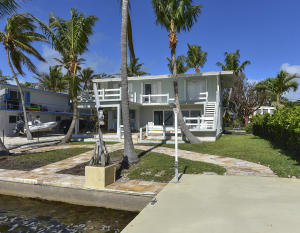 Largo Sound Open Waterfront home with a boat basin