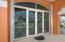 Custom Glass Etchings on Front Entrance
