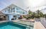 4 bedrooms, 3 baths, 2 boatlifts, tiki hut and a POOL!