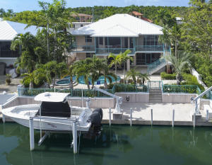 70 feet of deep water dockage boat lift and davits