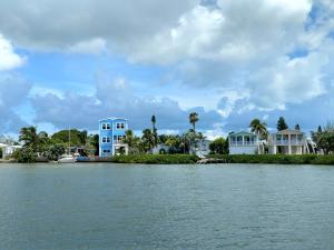 Harbor Shores community from the water.