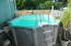 Pool is 10 x 15 with solar water heater