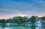 Lake View from Backyard at Sunset
