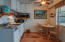 Downstairs Kitchenette & Dining