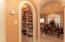 Walk in pantry and dining room