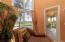 Door to balcony from main floor living room