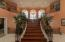 Grand staircase to bedrooms