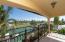 Balcony off guest bedroom