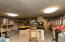 extra storage area off garage
