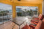 Screened in Patio, peek a boo views of open water