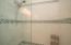 Master bath tiled shower