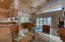 Clerestory windows let in additional natural light