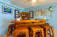 Bar in storage area- bar was custom made and will stay with the home.